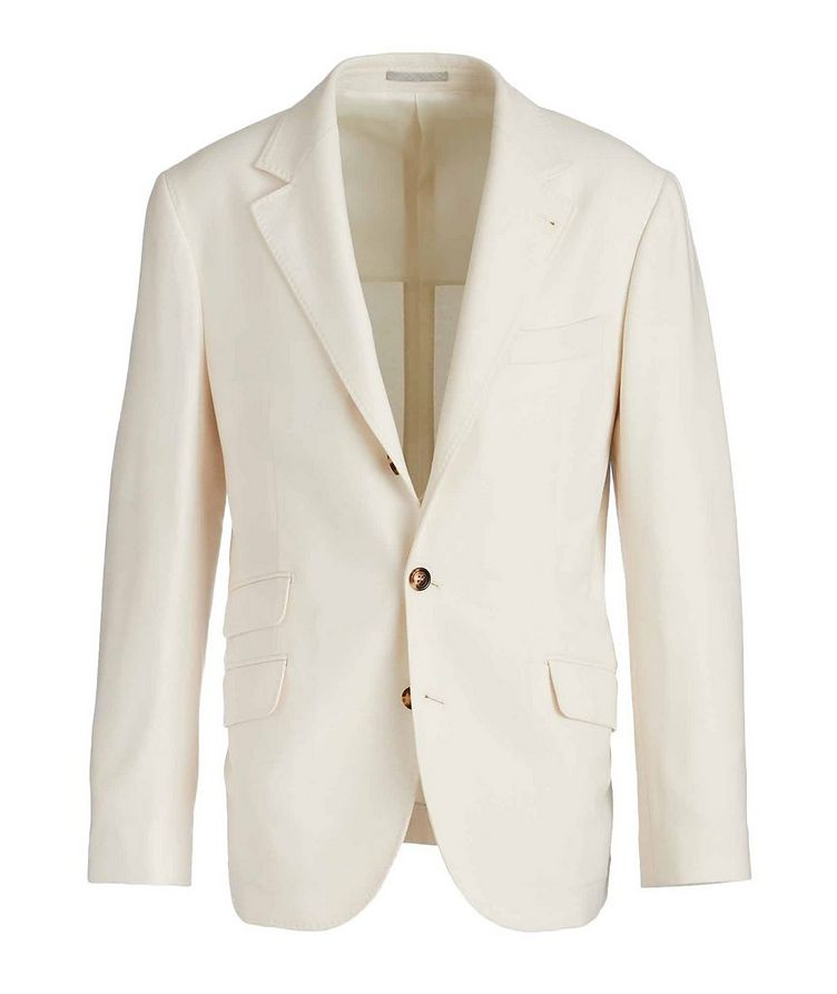 Unstructured Wool-Cashmere Sports Jacket image 0