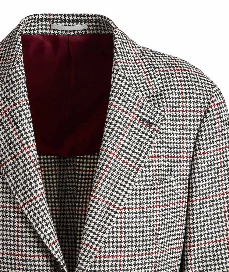 Houndstooth Wool-Cashmere Sports Jacket image 1