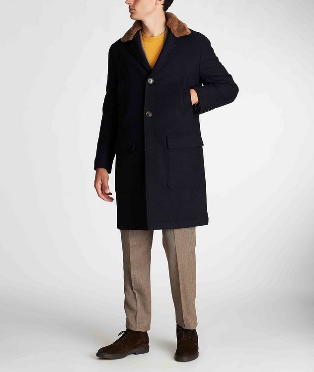 Herringbone Wool, Linen, and Silk Sports Jacket picture 5