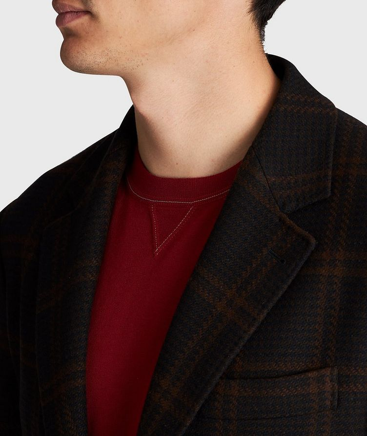 Checked Wool-Cashmere Sports Jacket image 2