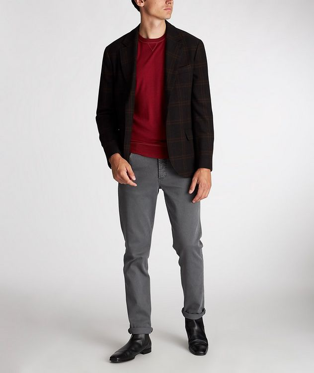 Checked Wool-Cashmere Sports Jacket picture 5