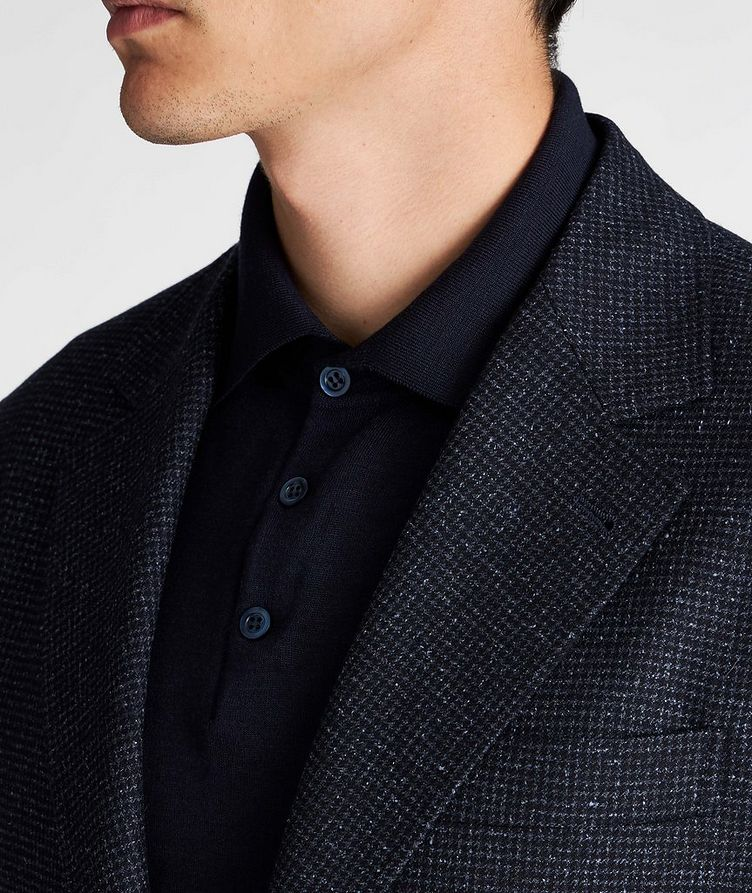 Unstructured Wool-Cashmere Sports Jacket image 2