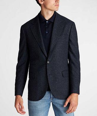 Brunello Cucinelli Unstructured Wool-Cashmere Sports Jacket