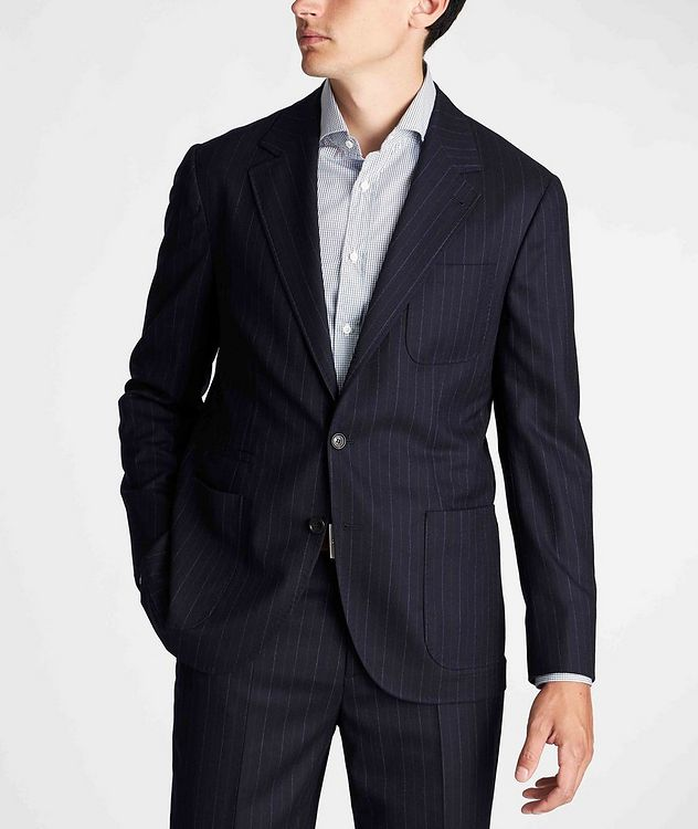Pinstriped Sports Jacket picture 2
