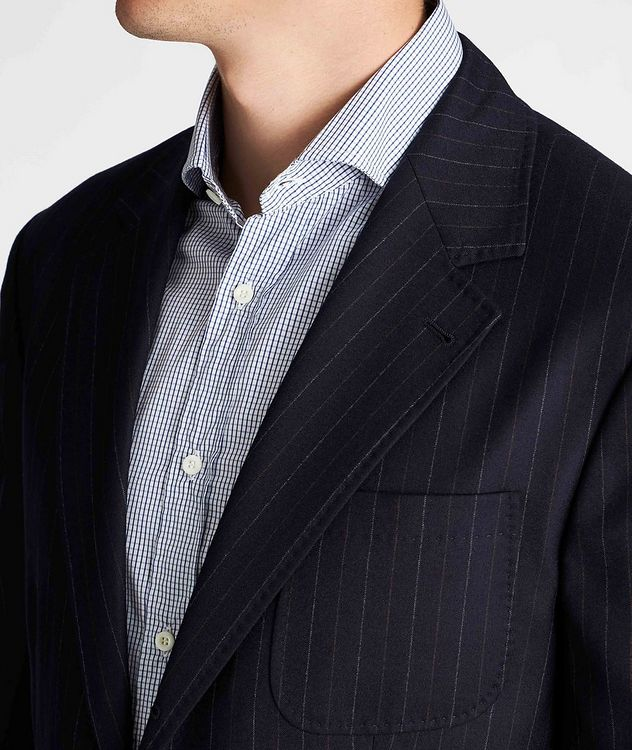 Pinstriped Sports Jacket picture 4