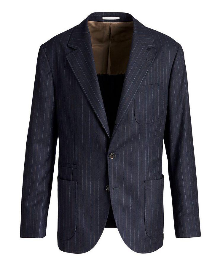 Pinstriped Sports Jacket image 0