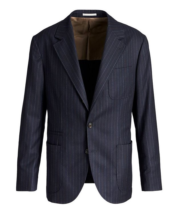 Pinstriped Sports Jacket picture 1