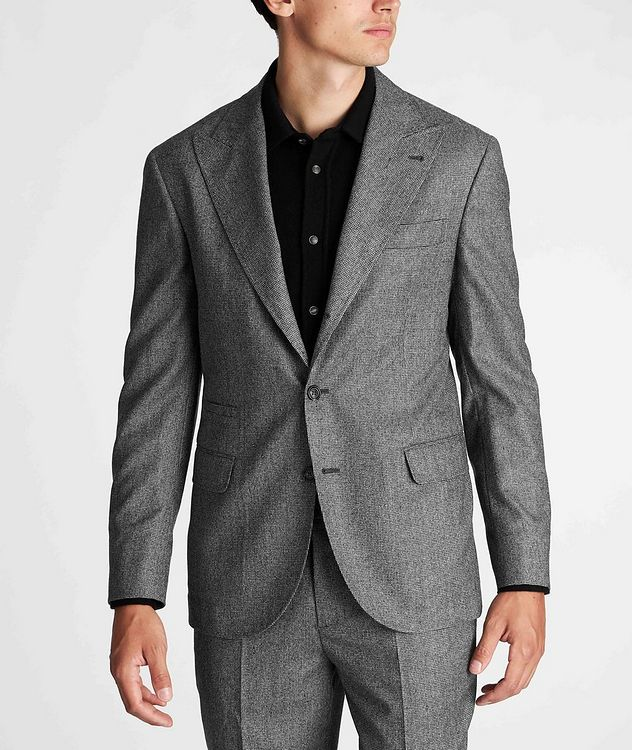 Houndstooth Virgin Wool Sports Jacket picture 2