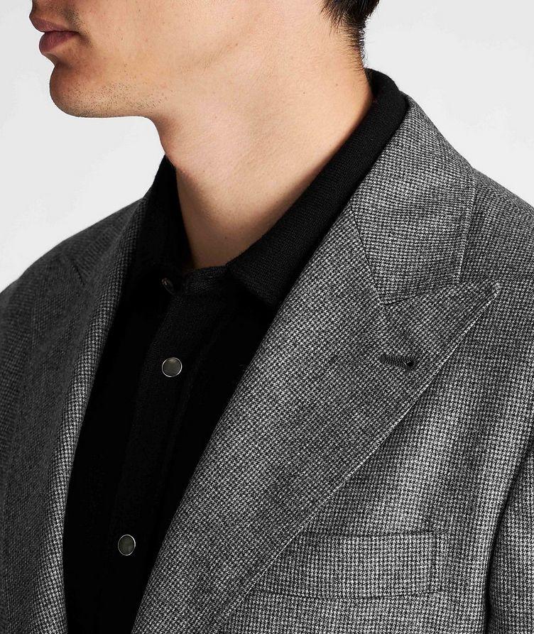 Houndstooth Virgin Wool Sports Jacket image 3