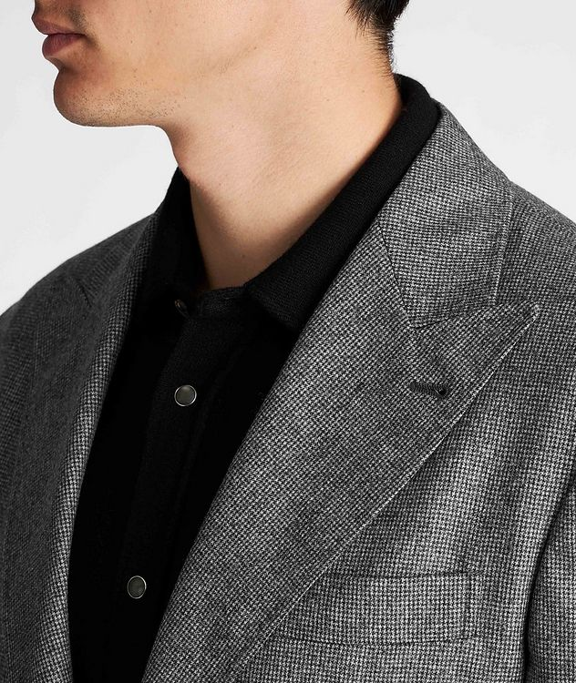Houndstooth Virgin Wool Sports Jacket picture 4