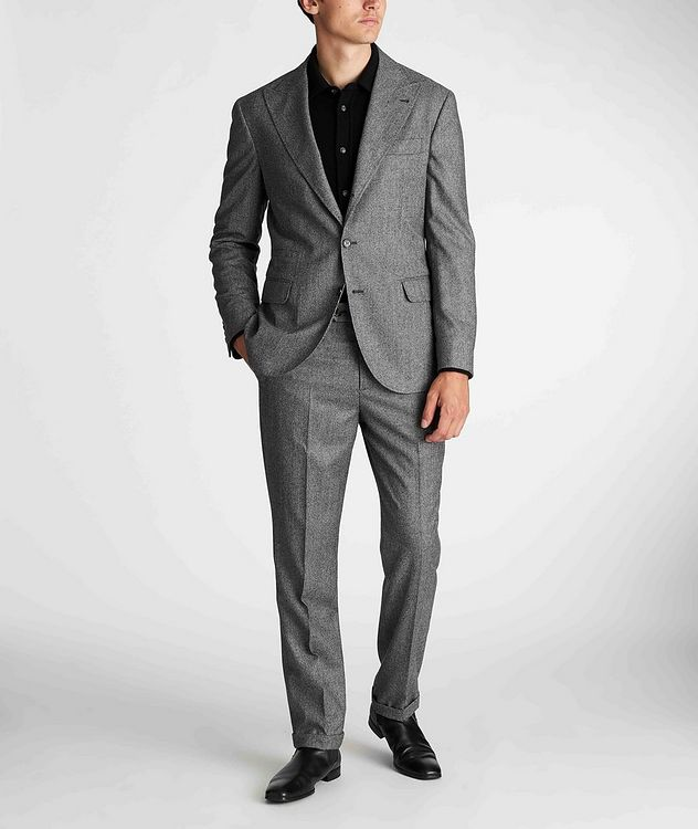 Houndstooth Virgin Wool Sports Jacket picture 5