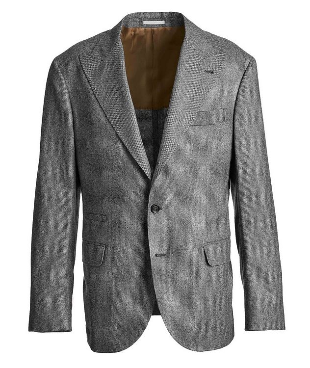 Houndstooth Virgin Wool Sports Jacket picture 1