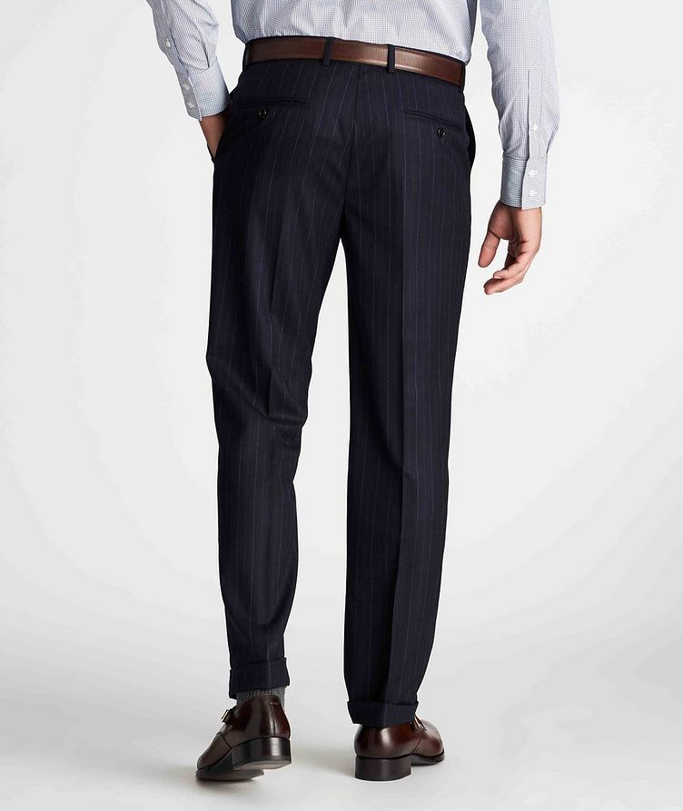 Contemporary Fit Pinstriped Dress Pants image 2