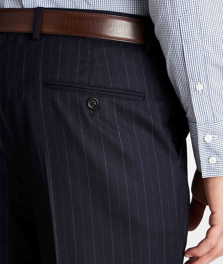 Contemporary Fit Pinstriped Dress Pants image 3