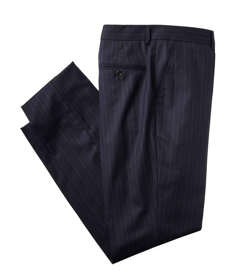 Contemporary Fit Pinstriped Dress Pants image 0