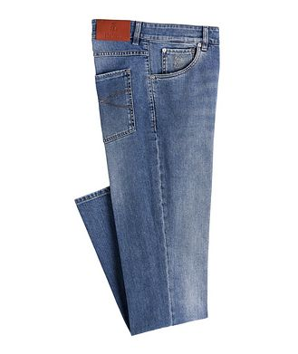 Brunello Cucinelli Skinny Fit Stretch-Cotton Jeans