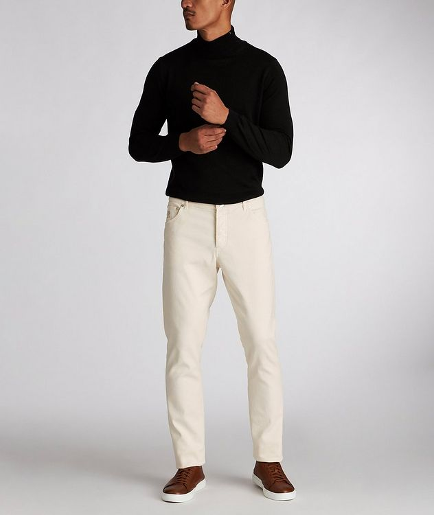 Skinny Fit Stretch-Cotton Jeans picture 5