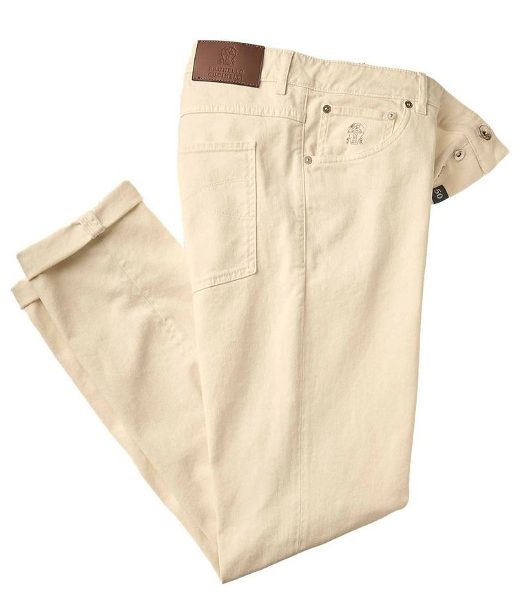 Skinny Fit Stretch-Cotton Jeans image 0