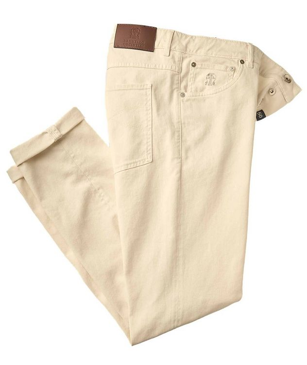 Skinny Fit Stretch-Cotton Jeans picture 1