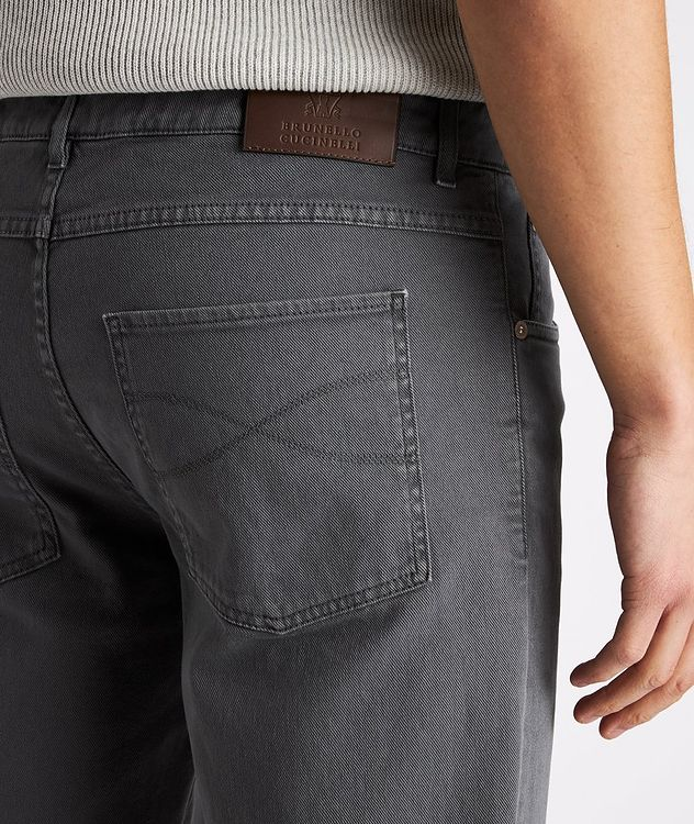 Skinny Fit Stretch-Cotton Jeans picture 4