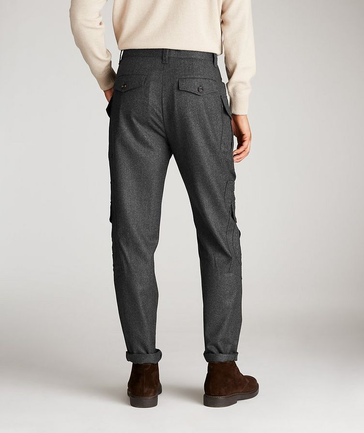 Contemporary Fit Wool Cargo Pants image 1