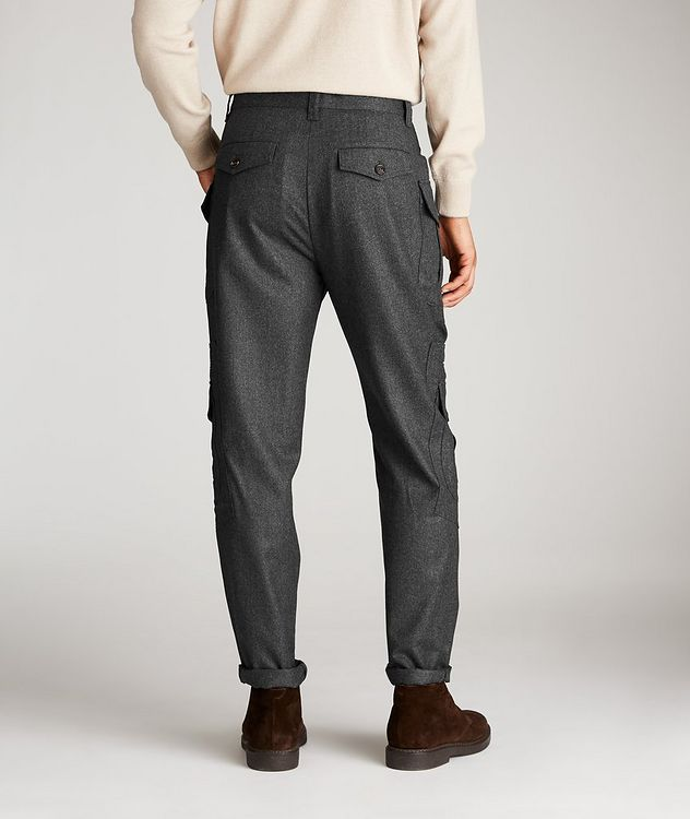 Contemporary Fit Wool Cargo Pants picture 2