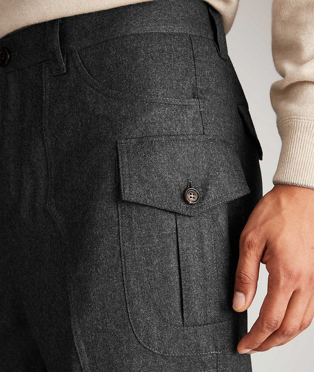 Contemporary Fit Wool Cargo Pants picture 3