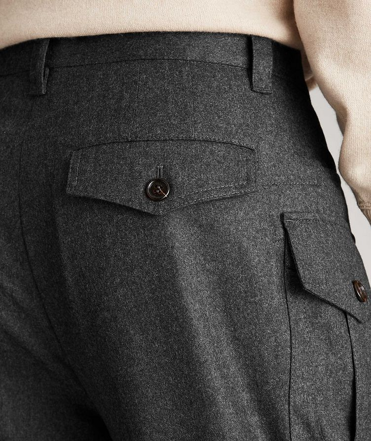 Contemporary Fit Wool Cargo Pants image 3
