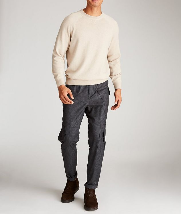 Contemporary Fit Wool Cargo Pants picture 5