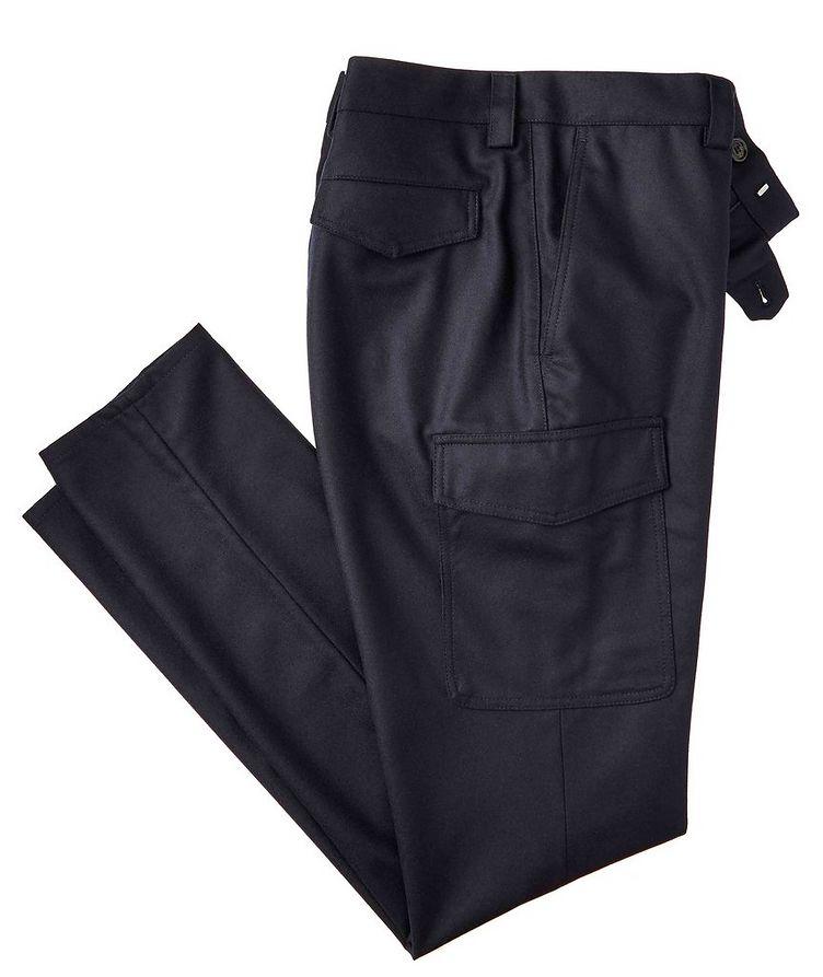 Leisure Fit Virgin Wool Dress Pants image 0