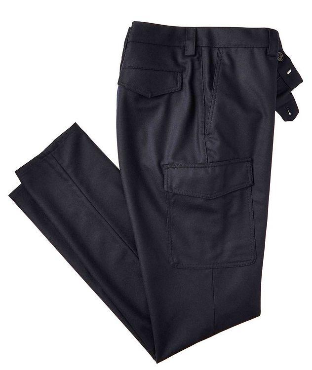 Leisure Fit Virgin Wool Dress Pants picture 1