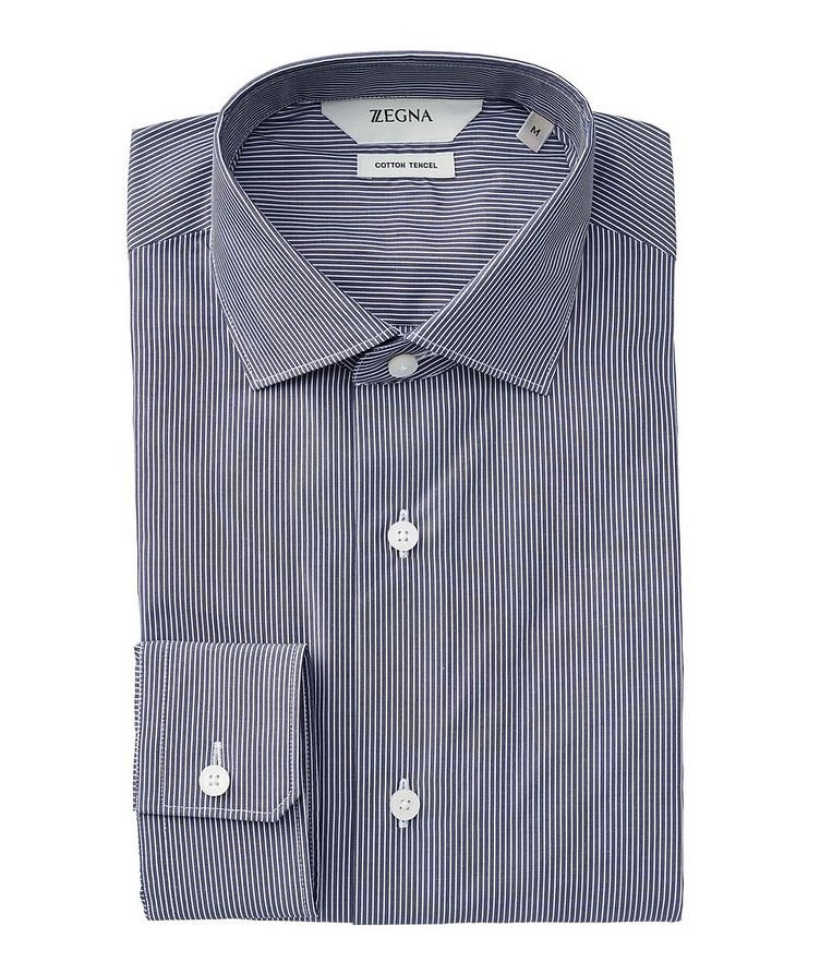 Striped Cotton-Tencel Shirt image 0