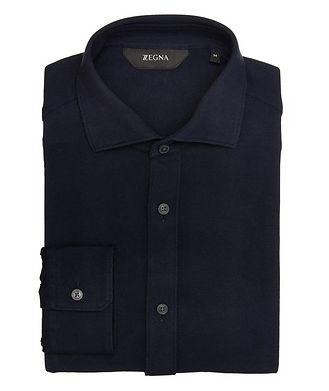 Z Zegna Cotton Piqué Shirt