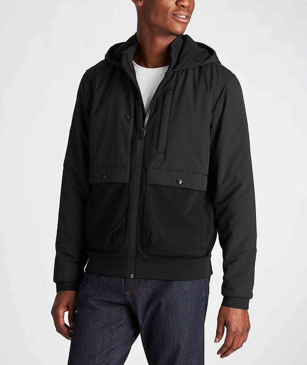 Zip-Up Hooded Jacket picture 2