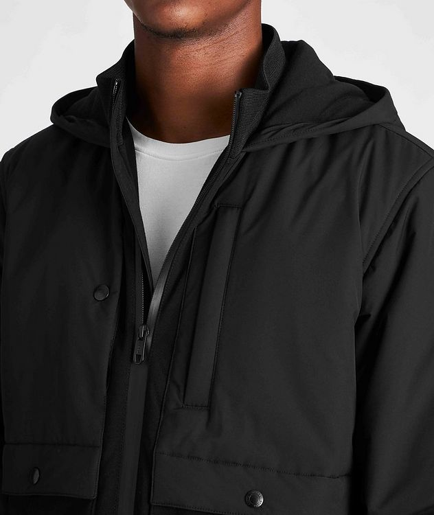 Zip-Up Hooded Jacket picture 4