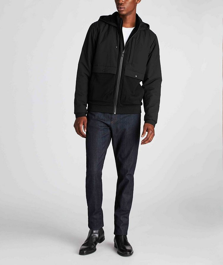Zip-Up Hooded Jacket image 4