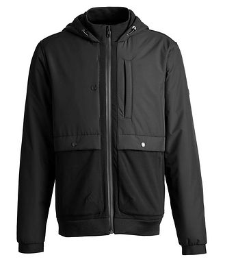 Z Zegna Zip-Up Hooded Jacket
