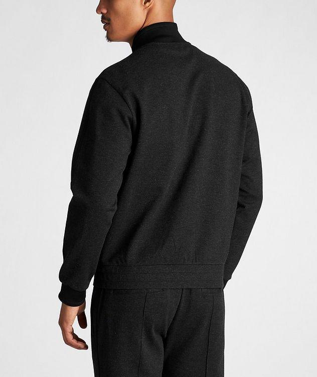 Zip-Up Stretch Sweatshirt picture 3
