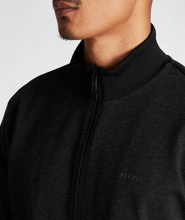 Zip-Up Stretch Sweatshirt picture 4