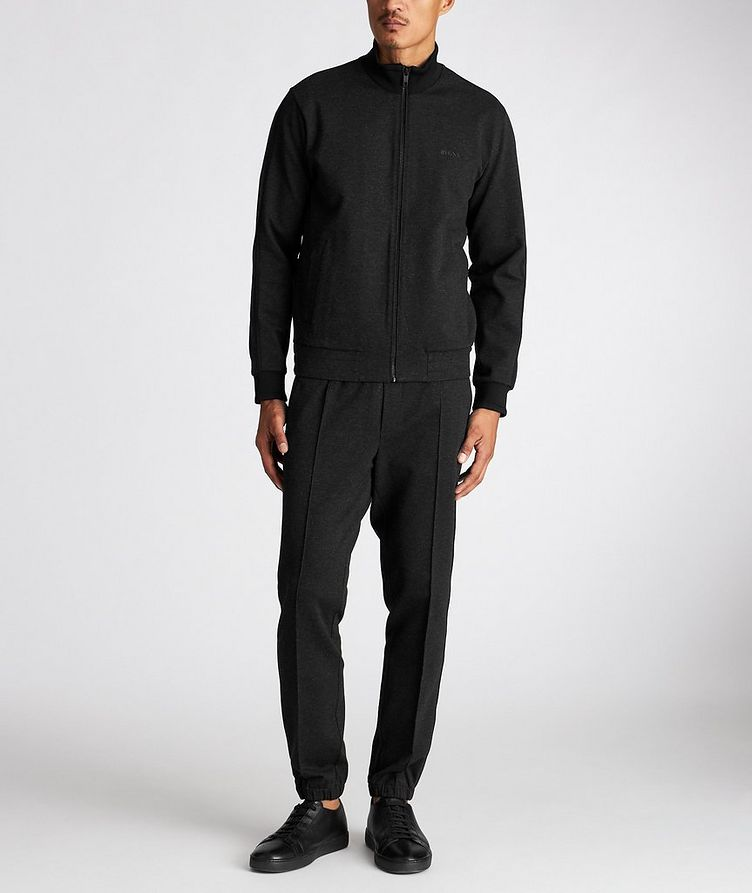 Zip-Up Stretch Sweatshirt image 4