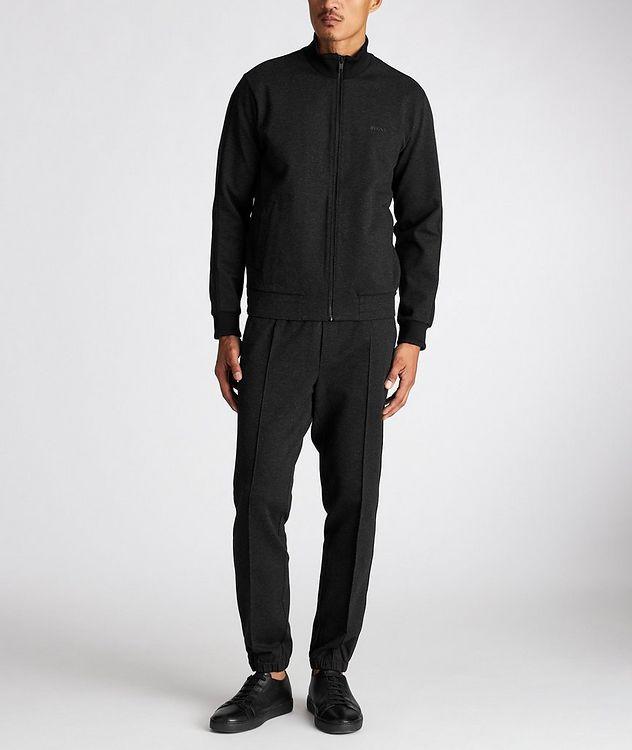 Zip-Up Stretch Sweatshirt picture 5