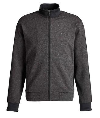 Z Zegna Zip-Up Stretch Sweatshirt