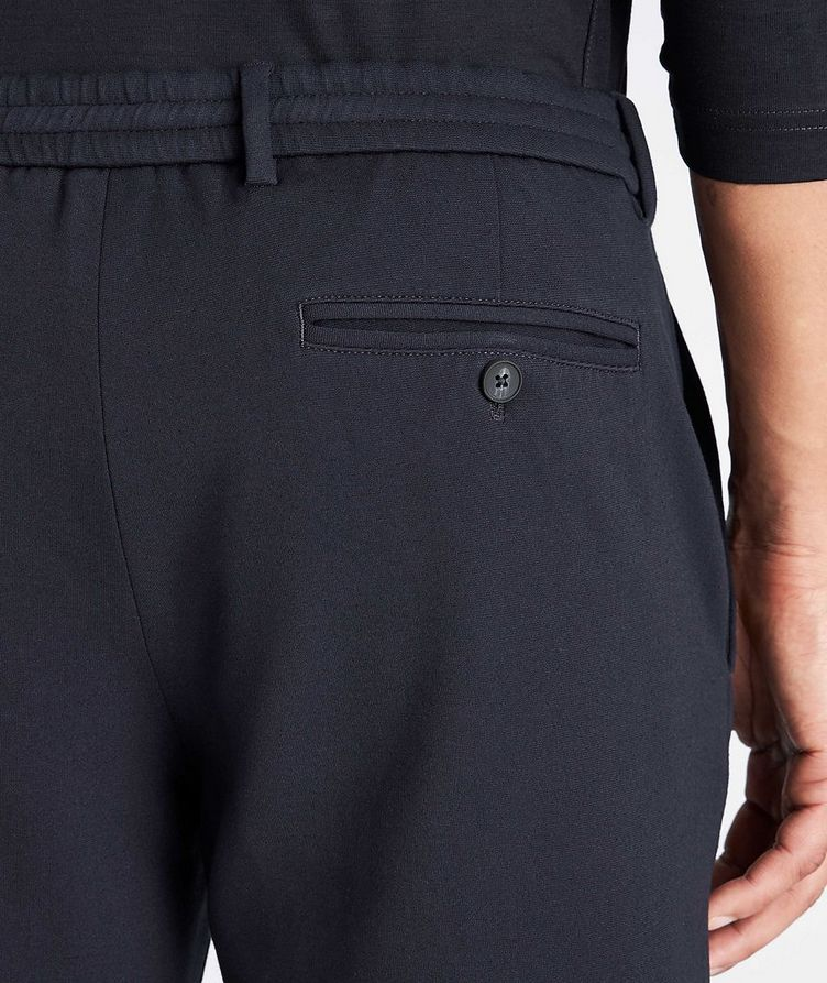 Technical-Stretch Drawstring Pants image 2