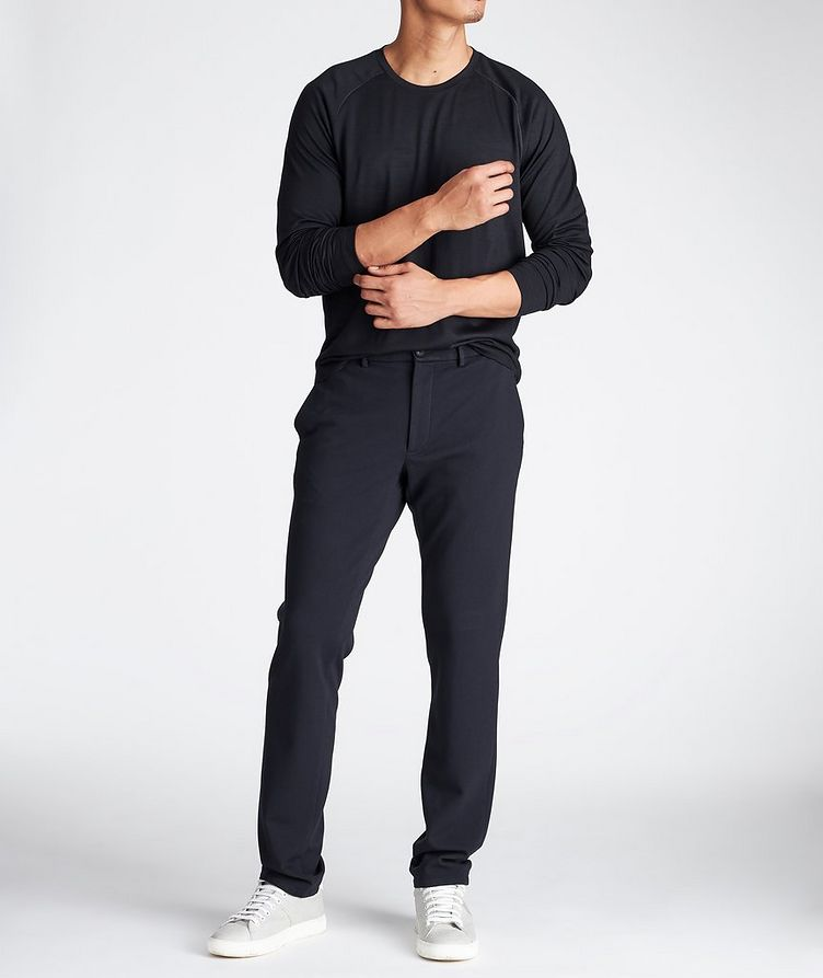 Technical-Stretch Drawstring Pants image 3