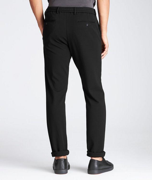 Pantalon en tissu extensible à cordon picture 2