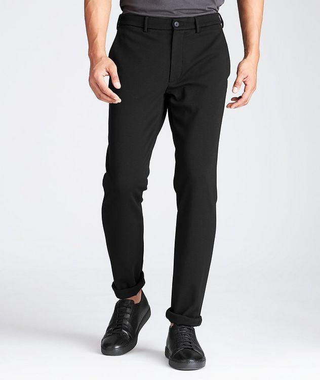 Pantalon en tissu extensible à cordon picture 1