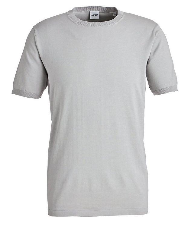 Knit Cotton T-Shirt picture 1