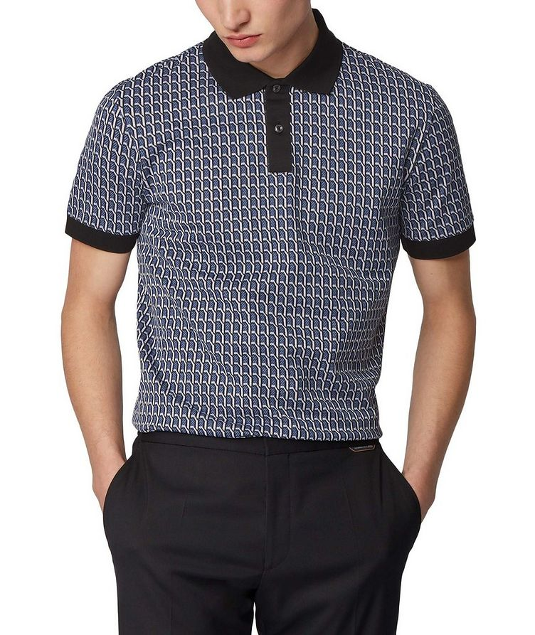 Textured Knit Polo image 1