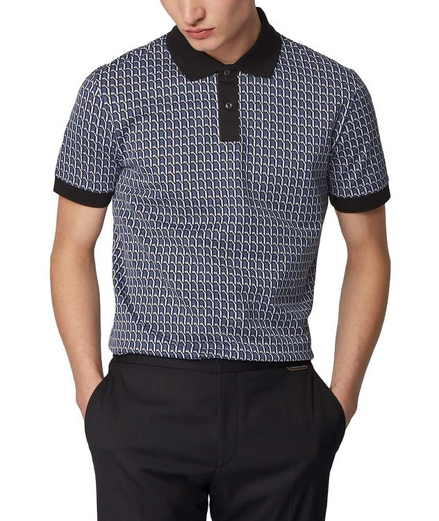 Textured Knit Polo picture 2