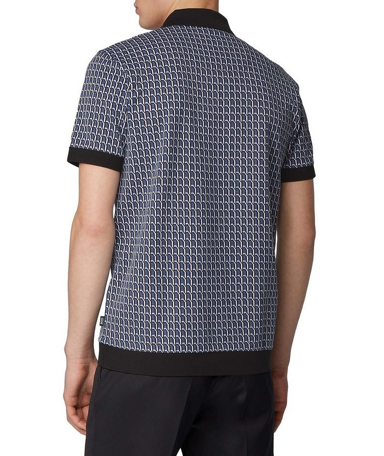 Textured Knit Polo image 2